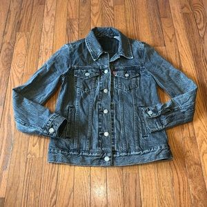 Levi's Jacket Black Size XS EUC Trucker Fit